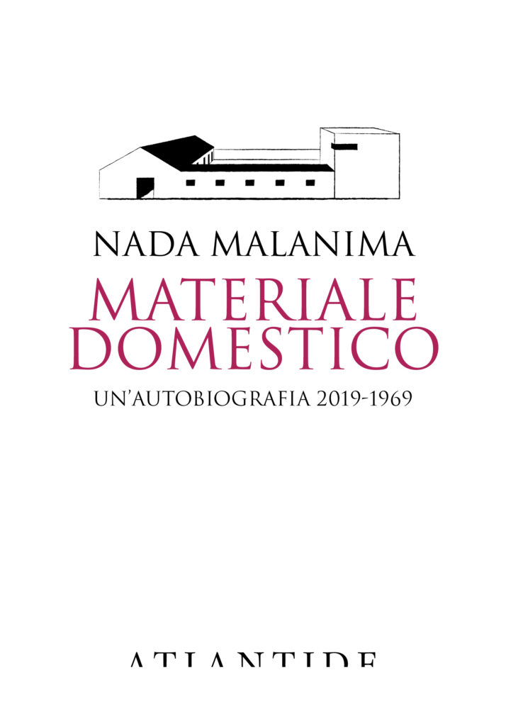 Materiale domestico - copertina libro Nada