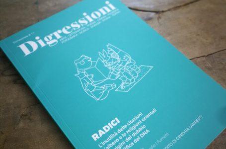 Digressioni: la rivista da sfogliare con il tempo che occorre. La storia raccontata da Davide De Lucca