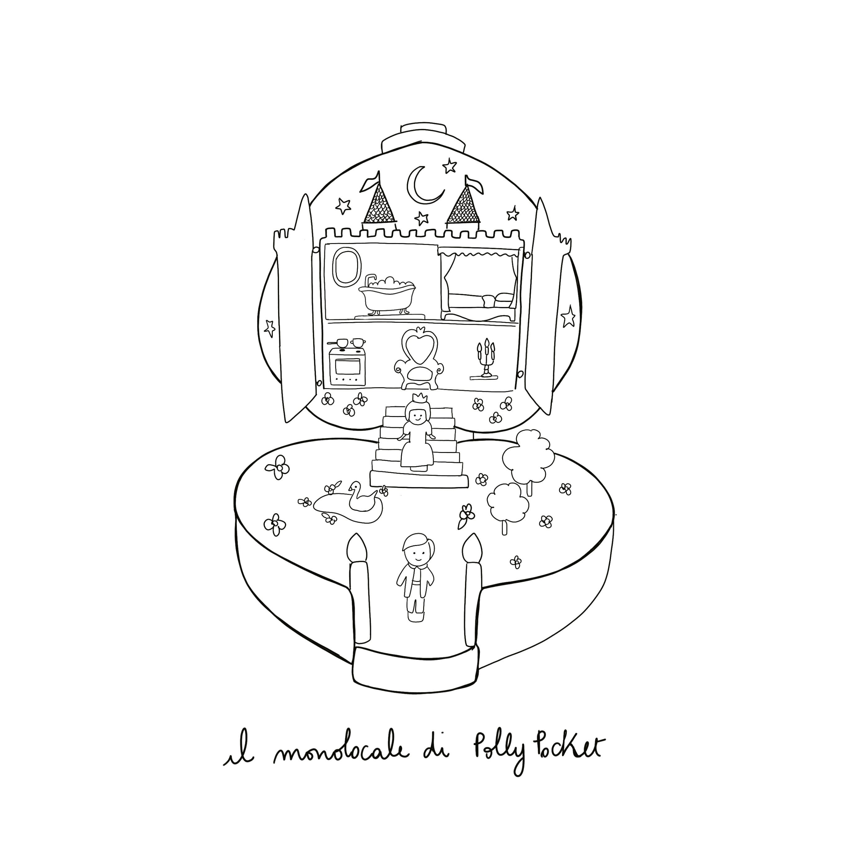 ImperdibiliMemorie_PollyPocket_illustrazione Valentina Merzi