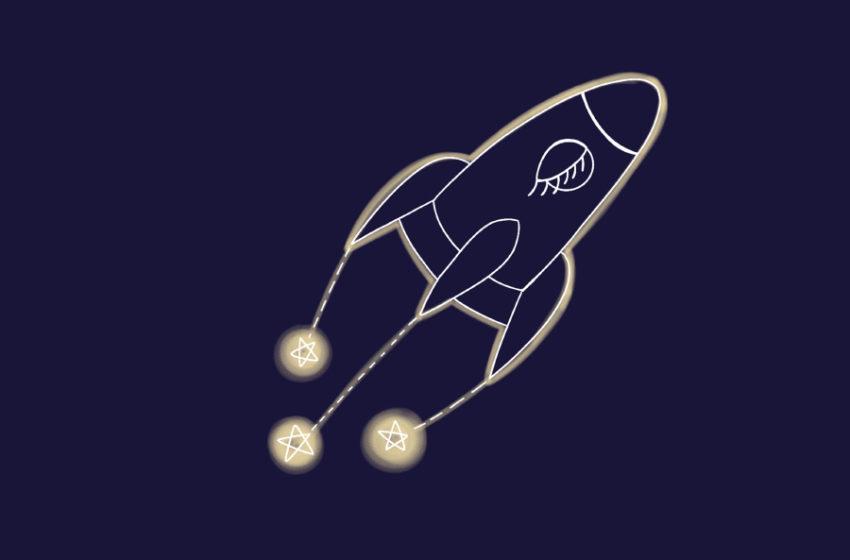 Razzo spaziale: un racconto di Nicole Vian