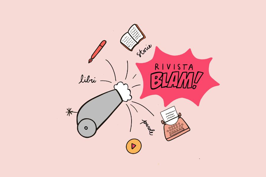 Illustrazione Rivista Blam