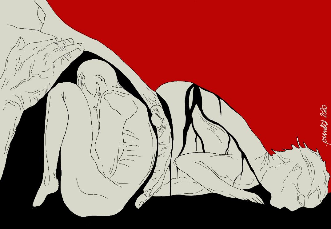 Nero in casa_illustrazione Francesca Galli