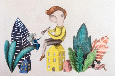 Visions: illustrazione di Juliana Duque