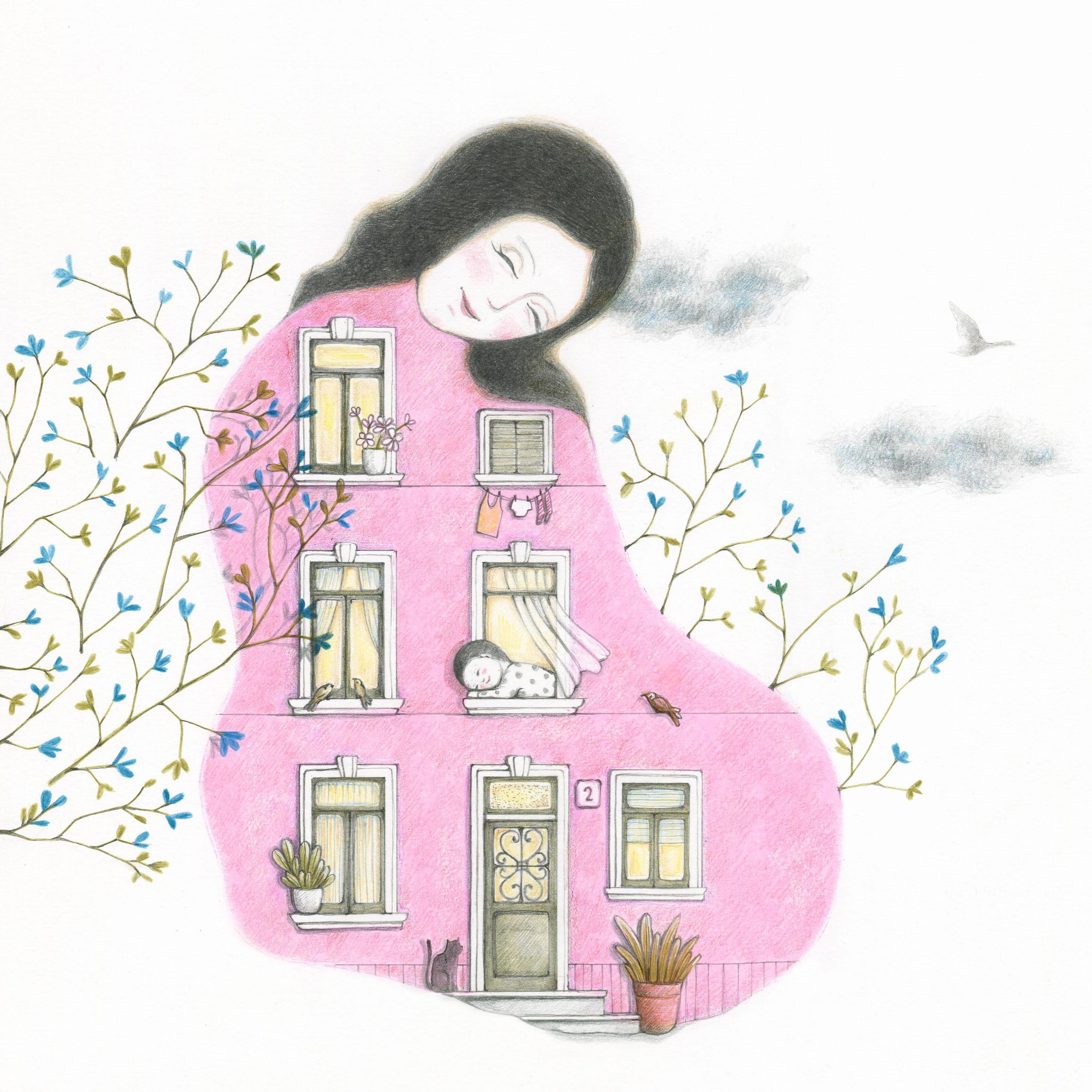 Feel - Illustrazione di Mariella Curumano