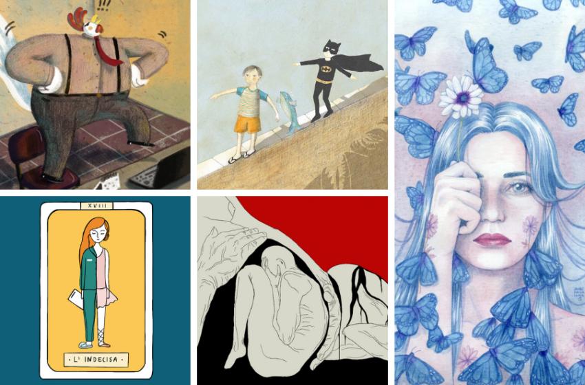 Illustratrici italiane: le 12 migliori emergenti da tenere sottocchio