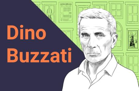 Ritratti di scrittori: Dino Buzzati, chi era? Scoprilo in 5 parole