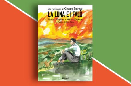 Disegnare Cesare Pavese: La Luna e i falò illustrata da Marino Magliani e Marco D'Aponte. Recensione della graphic novel