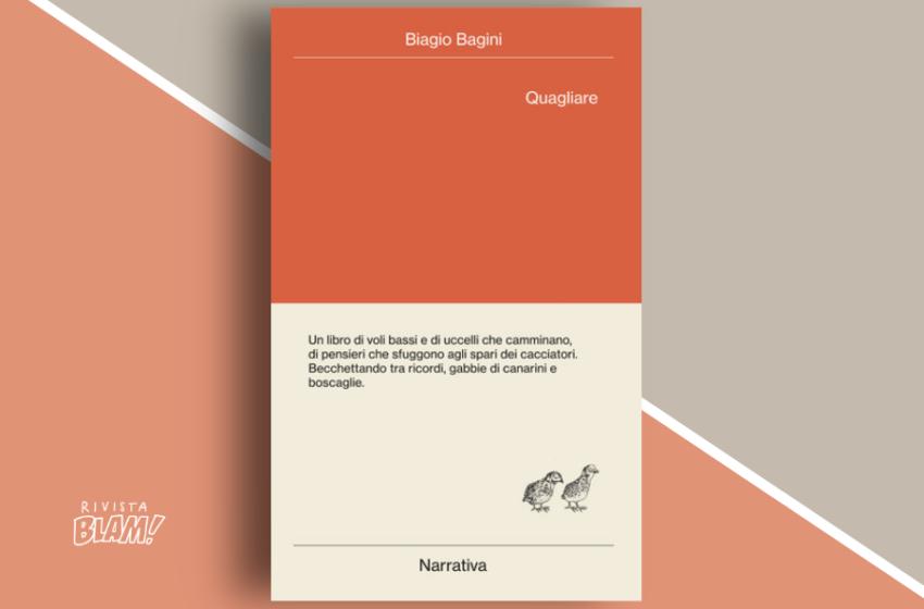 Quagliare di Biagio Bagini: il mondo visto da un punto di osservazione inedito. Recensione