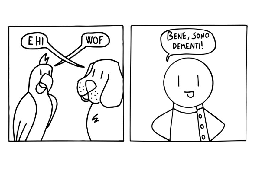 Un racconto e una vignetta #3: Pappacane
