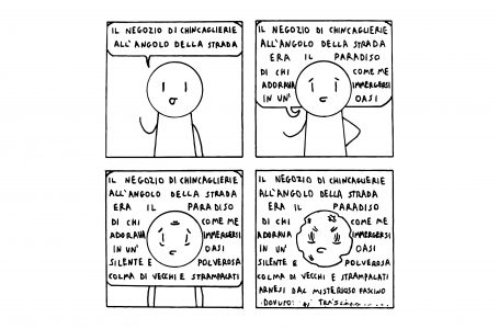 """Vignetta di Alessandro Lippolis """"Il vignettista amatoriale"""""""