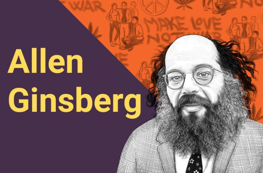 Ritratti di scrittori: Allen Ginsberg, chi era? Scoprilo in 5 parole