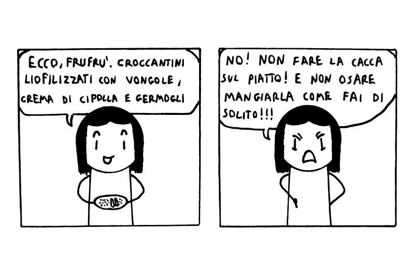 Un racconto e una vignetta #6: Frufrù