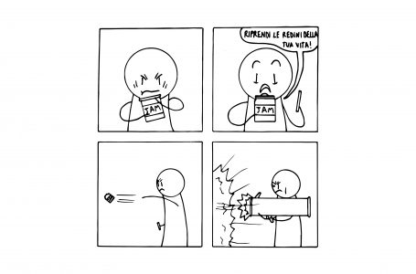 Un racconto e una vignetta #7: Il barattolo